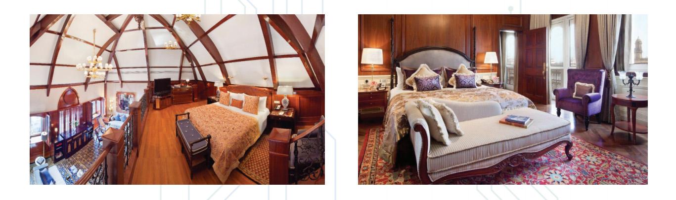 Taj Hotels room